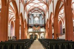 Town church Bayreuth stock photo