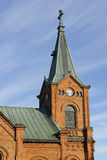 Town Church, Jyvaskyla Stock Images