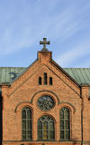 Town Church, Jyvaskyla Stock Image