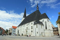 Town church in Weimar Royalty Free Stock Photography