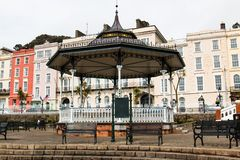 The town of Cobh, which sits on an island in Cork city's harbour. It's known as the Titanic's last port of call in 1912. April 18th, 2018, Cobh, county Stock Photo