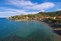 The town Collioure in France Royalty Free Stock Photography