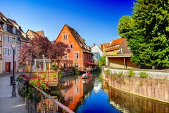 Town of Colmar Stock Images