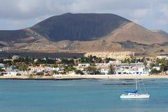 Town Of Corralejo Stock Image