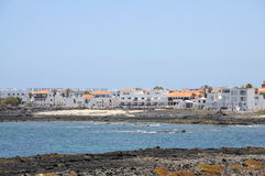 Town Corralejo, Fuerteventura, Spain Royalty Free Stock Photos