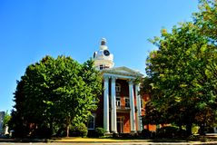 Town Courthouse Royalty Free Stock Photography