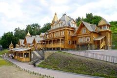 Town of Craftsmen. Gorodets Nizhny Novgorod region in Russia. 2.07.2011 Stock Images