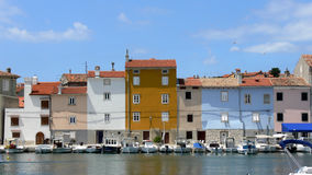 Town of Cres in Croatia Stock Images