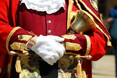 Town crier Royalty Free Stock Image