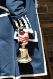 Town crier with Bell Stock Images