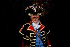 The Town Crier of Chester Stock Photography