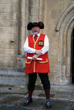 Town Crier Royalty Free Stock Photo
