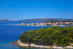 Town in Croatia Royalty Free Stock Photos