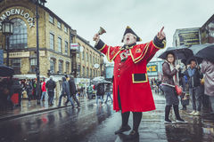 Town Cryer Stock Image