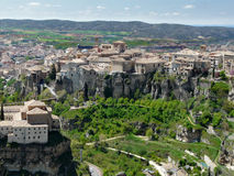 Town of Cuenca in Spain Royalty Free Stock Photography