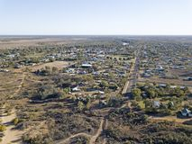 Town of  Cunnamulla Royalty Free Stock Photo