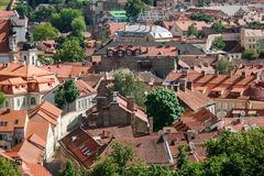 Town at daytime. Stock Photo