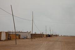 Town in the Desert Stock Photos