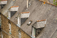 Town of Dinan, Brittany, France Royalty Free Stock Photos