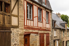 Town of Dinan, Brittany, France Stock Photo