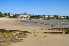 The town Dinard in Brittany. France Royalty Free Stock Photo