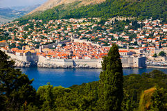 Town Dubrovnik in Croatia Royalty Free Stock Photos