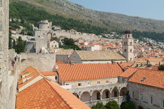 The town of Dubrovnik, Croatia Royalty Free Stock Photo