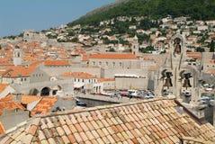 The town of Dubrovnik, Croatia. Unesco world heritage Stock Photo