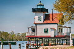 Town of edenton roanoke river lighthouse Stock Photography