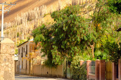 Town in Elqui Valley Royalty Free Stock Images