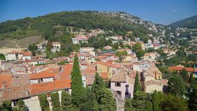Town of Eze Stock Photo