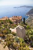 Town of Eze Royalty Free Stock Photo