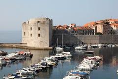 town för 0ld croatia dubrovnik Royaltyfria Bilder