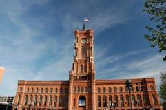 town för berlin korridorred Arkivfoto