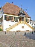 town för deidesheimgermany korridor arkivfoton