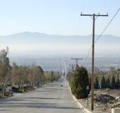 town för smog 3 Arkivfoto