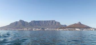 town för tabell för africa uddberg södra Fotograferat på en dag för sommar` s från den Robben ön royaltyfria foton