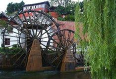 town för turist för porslinlijiangöverkant Royaltyfri Bild