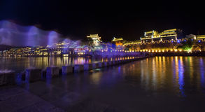 The town of fenghuang phoenix Royalty Free Stock Images