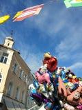 Town festival in Klagenfurt, Austria Stock Photography