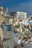 Town of Fira, Santorini, Thira,  Cyclades Islands Stock Photography
