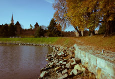Town fortification in Nymburk Royalty Free Stock Photo