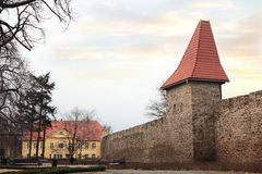 Town fortification in Swiebodzice Royalty Free Stock Photo