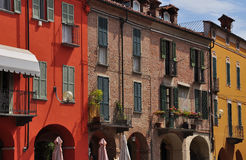 Town of Fossano, province of Cuneo, Italy Stock Images