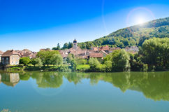 Town in France Stock Photo