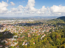 Town Freiburg im Breisgau, Germany Royalty Free Stock Image