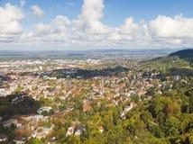 Town Freiburg im Breisgau, Germany Royalty Free Stock Image