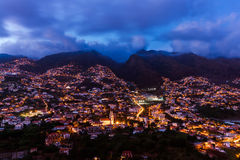 Town Funchal - Madeira Portugal Stock Photo
