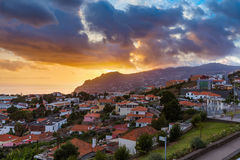 Town Funchal - Madeira Portugal Royalty Free Stock Image