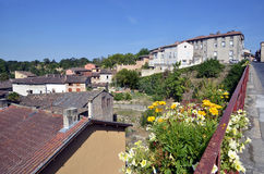 Town of Gaillac in France Royalty Free Stock Photos